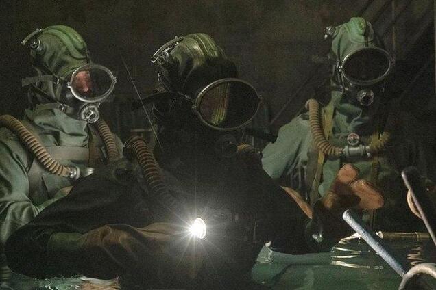 Дайверы в Чернобыле