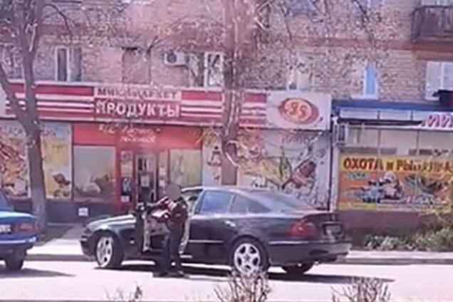 "В 10 лет сам на ""Мерседесе"": в Запорожской области засняли ребенка за рулем"