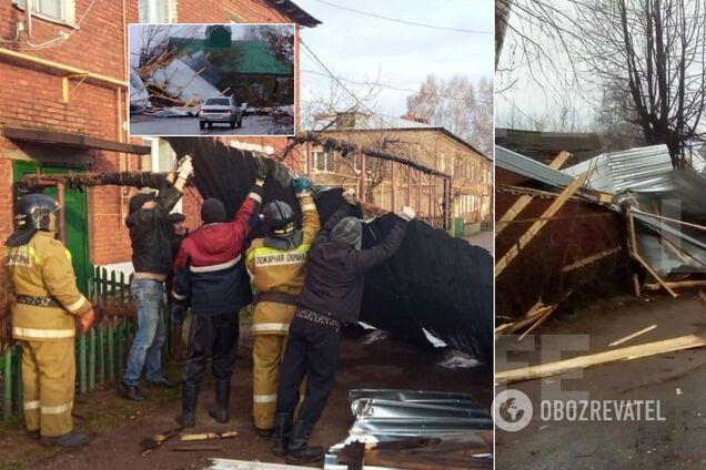 У Росії зривало дахи будинків