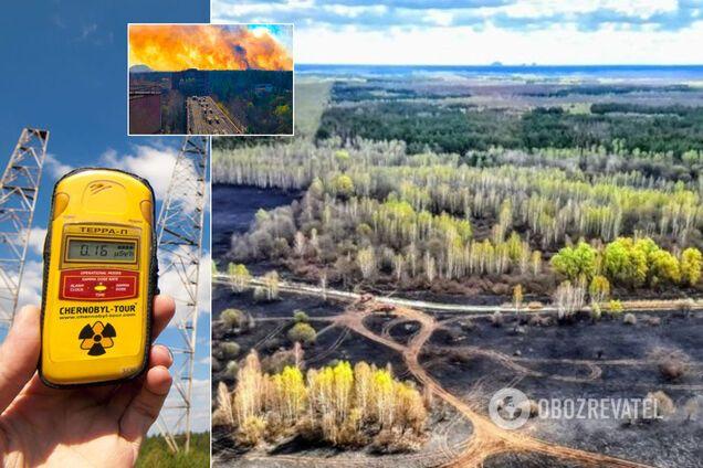 Розноситься попіл із радіацією? Названо небезпечний наслідок пожеж у Чорнобильській зоні