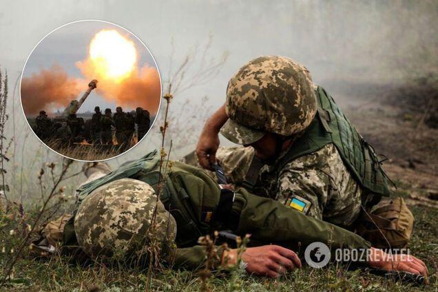 На Донбасі поранено українських захисників