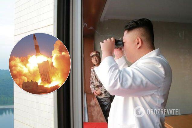 Ким Чен Ын мог быть ранен во время испытания ракеты