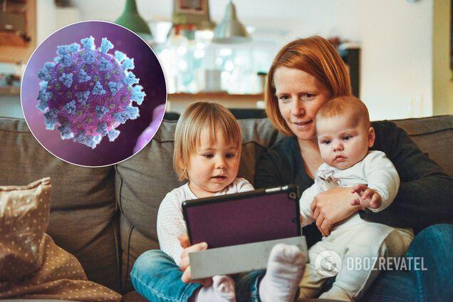 Дитячий організм реагує на коронавірус не так, як дорослий