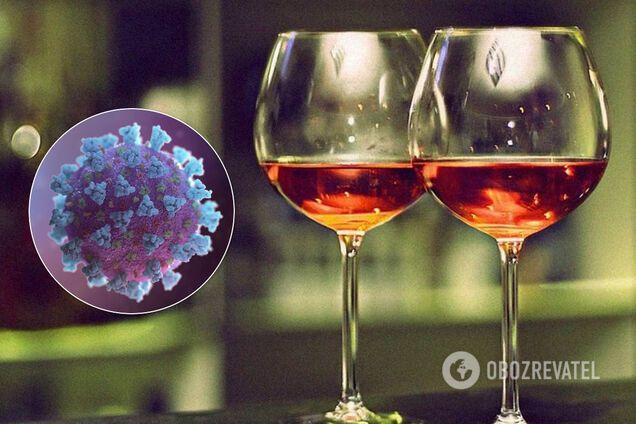 Алкоголь при лечении коронавируса