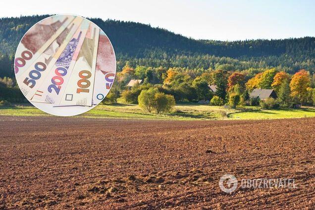 Вартість оренди землі в Україні
