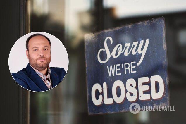 Відомий український бізнесмен про виживання на карантині: пільг немає, 50% ресторанів збанкрутують