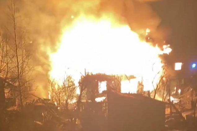 В Выборге в доме сгорела семья
