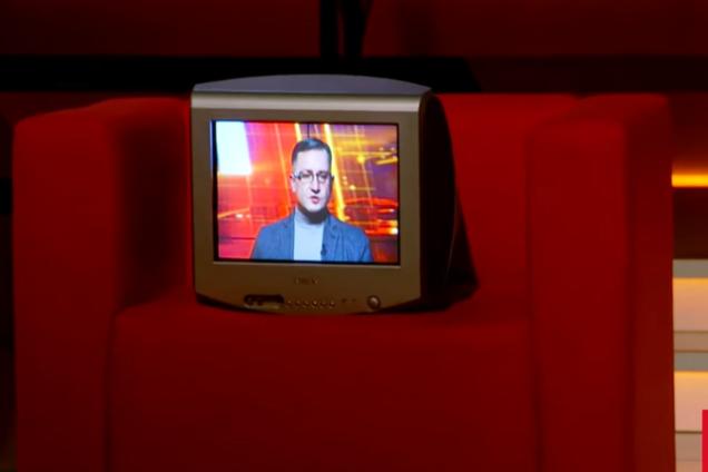 Игорь Уманский на эфире ТВ