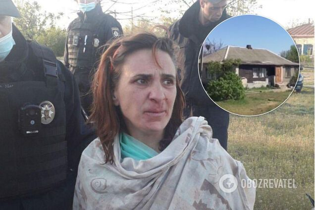 Жінку затримала поліція