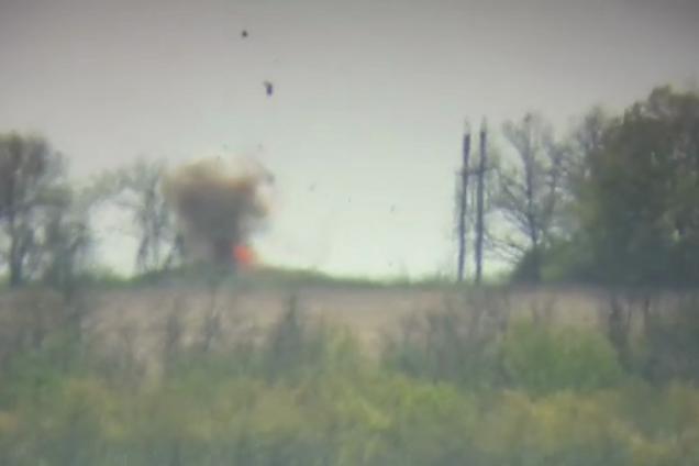 Взорвали командирское авто: опубликовано видео мести ВСУ за побратима