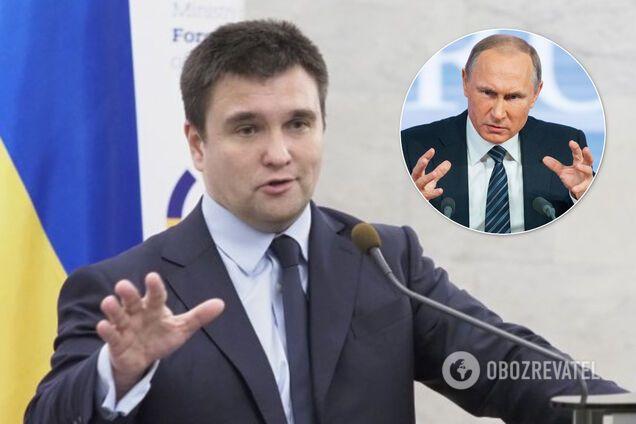 Война на Донбассе скоро не закончится: Климкин рассказал о двух Путиных в России