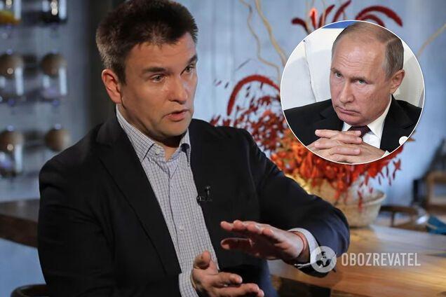 Климкин считает, что Путин стремится захватить и юг Украины