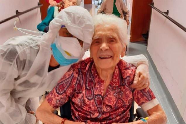 104-летняя Ада Зануссо