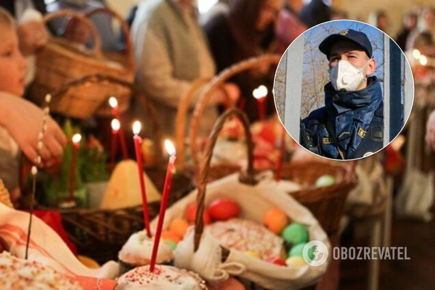 """""""Служби повинні відбутися"""": у поліції пообіцяли не виганяти із храмів на Великдень"""