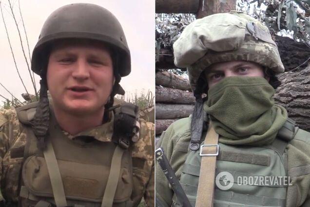 Бійці на Донбасі зворушливо привітали своїх матерів