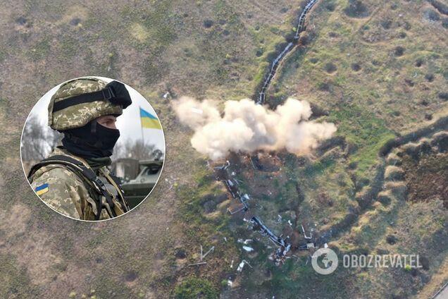 ЗСУ розгромили позиції терористів на Донбасі