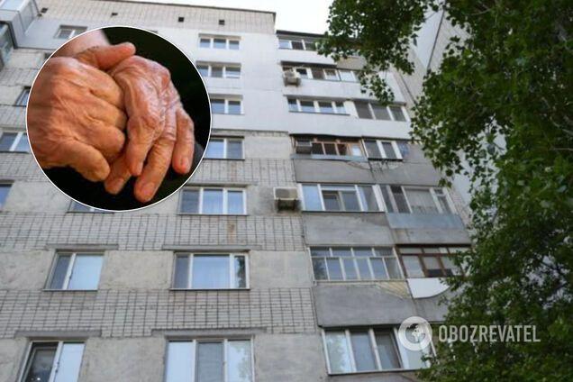 У Миколаєві з вікна викинулася пенсіонерка