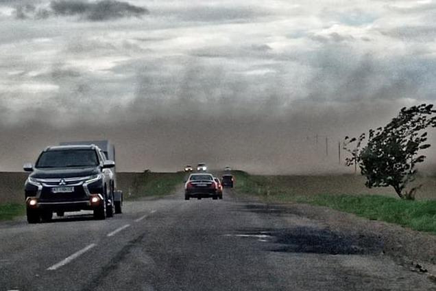 Пилова буря в Івано-Франківську