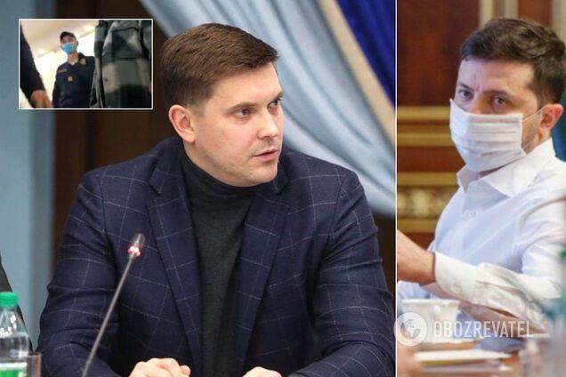 Глава Одеської ОДА вигнав журналістку за допомогою Нацгвардії й нарвався на виклик в ОП
