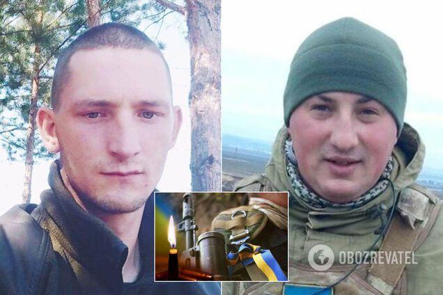 На Донбасі загинули молоді бійці ЗСУ
