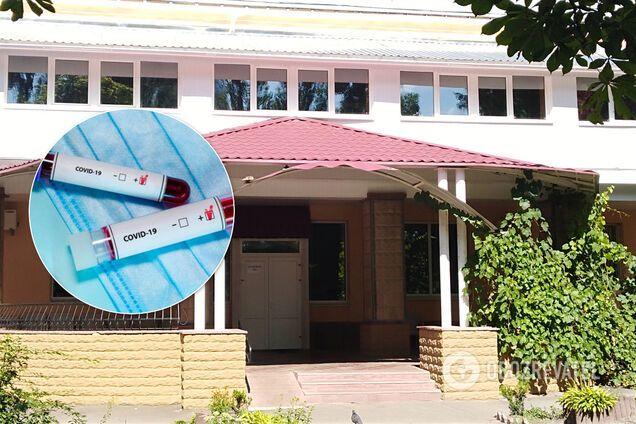 У Дарницькому дитячому будинку-інтернаті Києва 81 особа захворіла на коронавірус. Ілюстрація