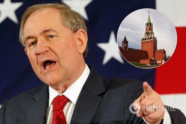 Джеймс Гілмор зробив заяву з приводу агресії Росії в Україні