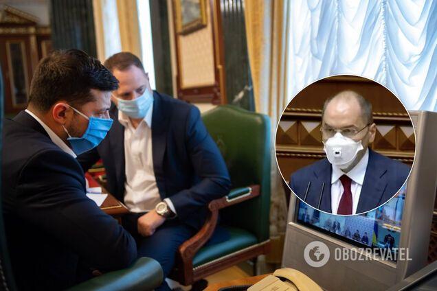Степанов розповів Зеленському про ІФА-діагностику