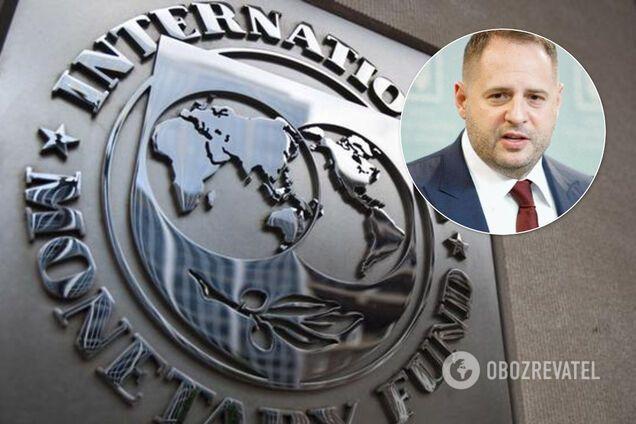 Україна виконала всі вимоги МВФ: Єрмак виступив із заявою