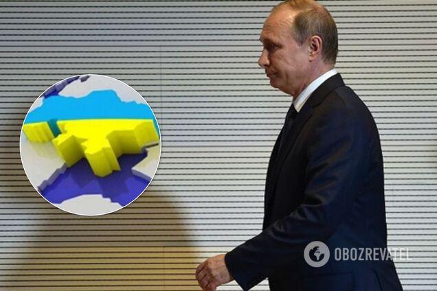 Украина и Путин. Иллюстрация