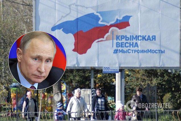 """""""Этого не будет!"""" Политолог пояснил, почему Путин не отдаст Крым"""
