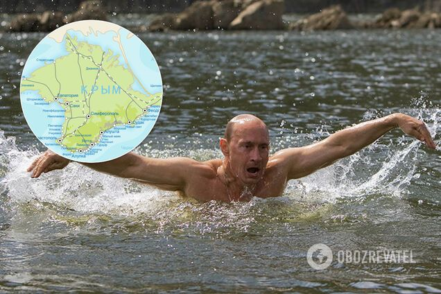 Крым топит рейтинг Путина