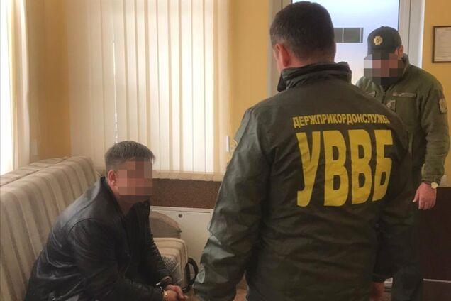 Затримання російського офіцера