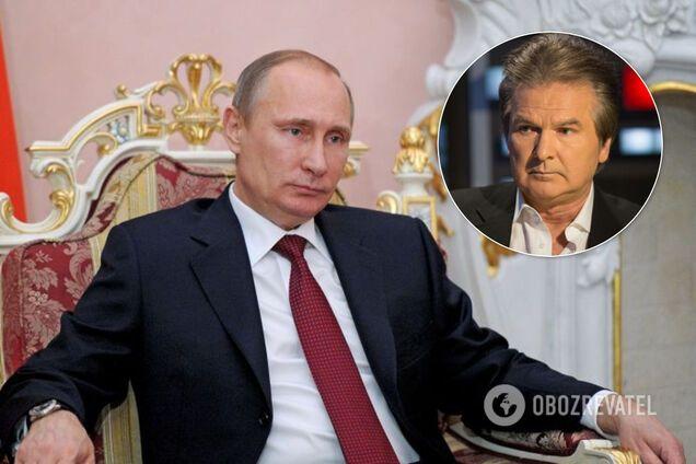 Путин и Швец