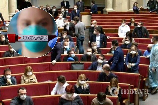 """В Раде коронавирусом заразился еще один нардеп: СМИ нашло """"доказательство"""""""