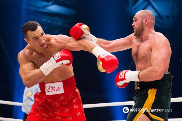 Володимир Кличко проти Тайсона Ф'юрі