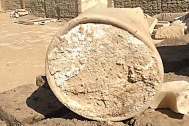 Чаша з сиром з єгипетської гробниці
