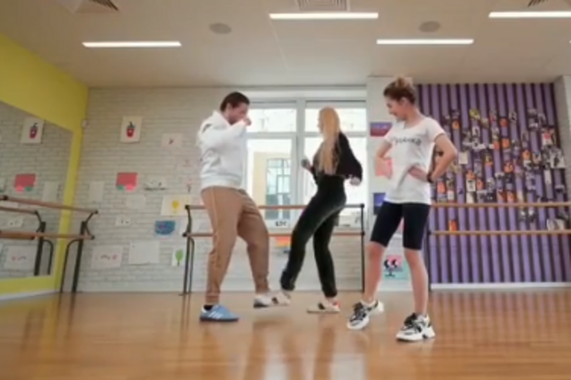 Олександр Усик, Оля Полякова та Анна Домнич
