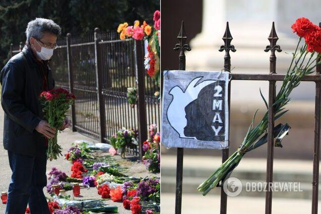 Шестая годовщина трагедии в Одессе