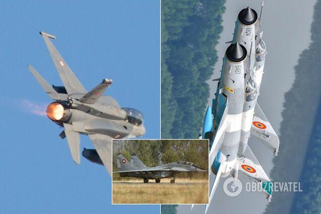 Российская авиация нарвалась на истребители НАТО