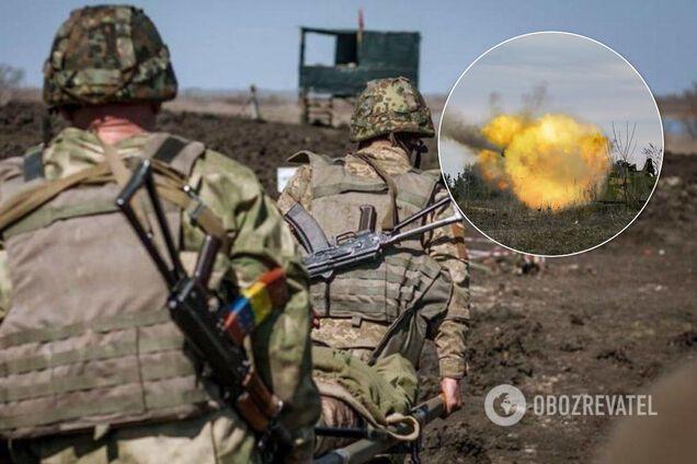 На Донбасі поранено українських воїнів