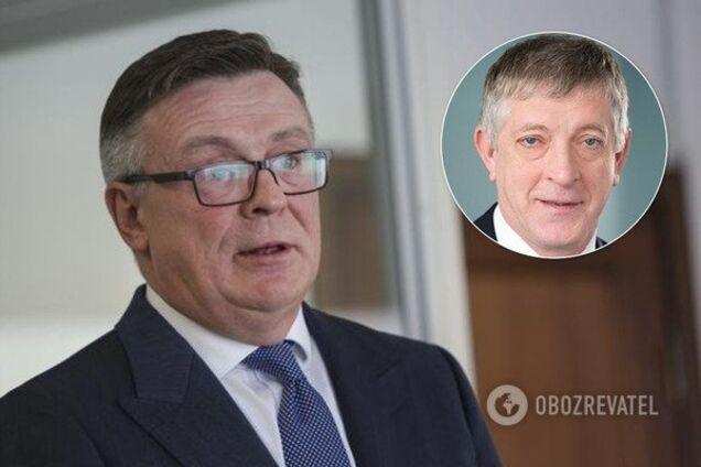 Леонід Кожара та Сергій Старицький