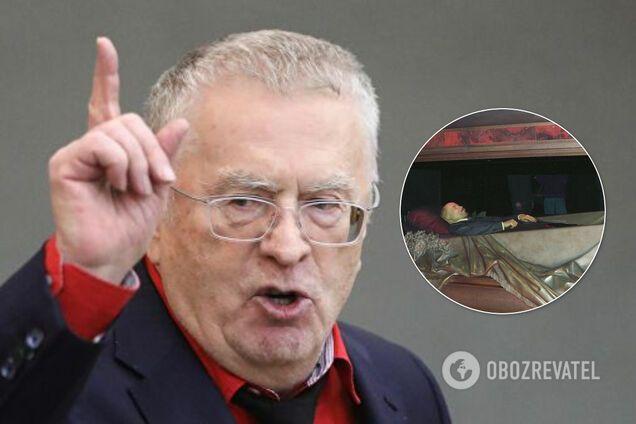 Жириновський виступив за продаж Леніна: в мережі запропонували возити як мощі