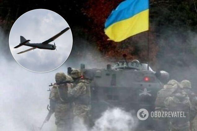 На Донбасі поранили українського бійця, скинувши з безпілотника постріл