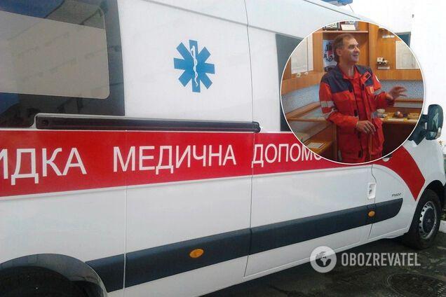 Глава профсоюза Белоцерковской станции экстренной медпомощи Виктор Евтушенко