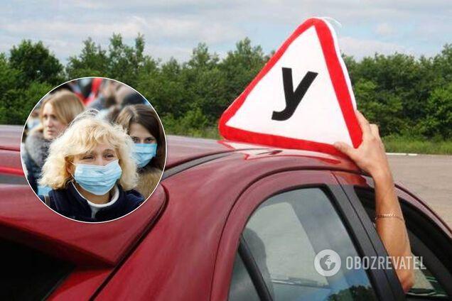 В Україні відновили іспити на водійські посвідчення