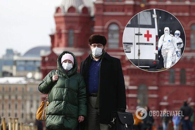 Росія встановлює рекорди щодо коронавірусу