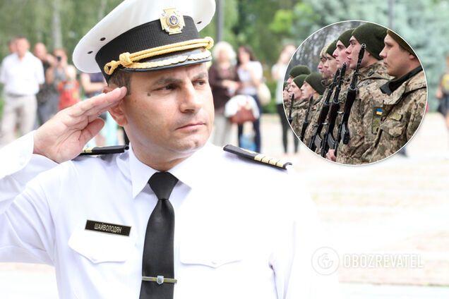 Командир навчального центру ВМС України Шаген Шайволодян
