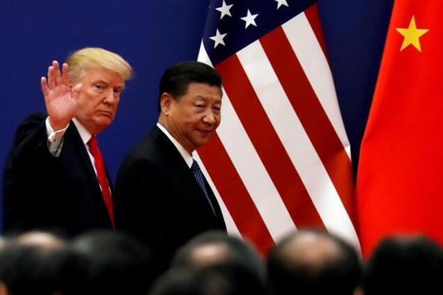 Президент США Дональд Трамп і голова КНР Сі Цзіньпін