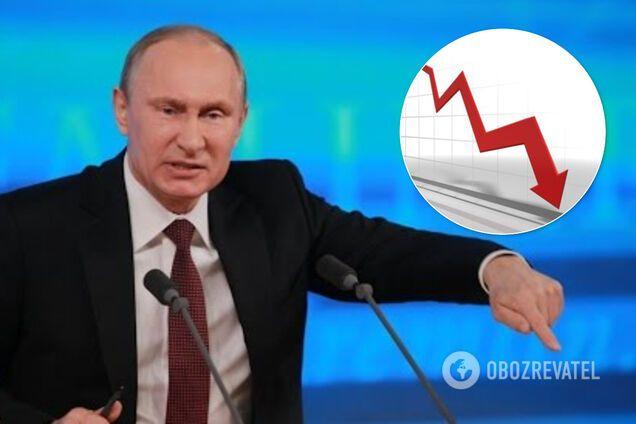 Bloomberg заявило, что рейтинг Путина в России упал до минимума