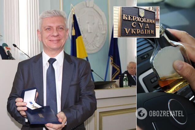 Судью ВСУ Валентина Сердюка отстранили от работы за пьяное вождение